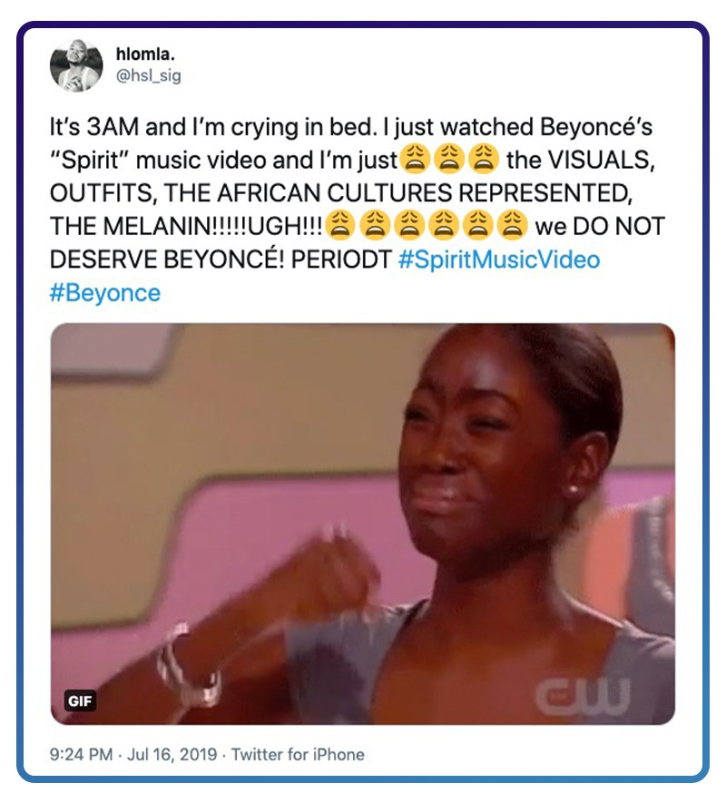 Twitter Beyoncé gets better with age