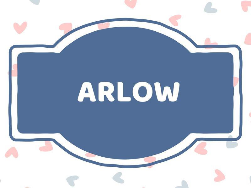 Unique Baby Boy Names: Arlow