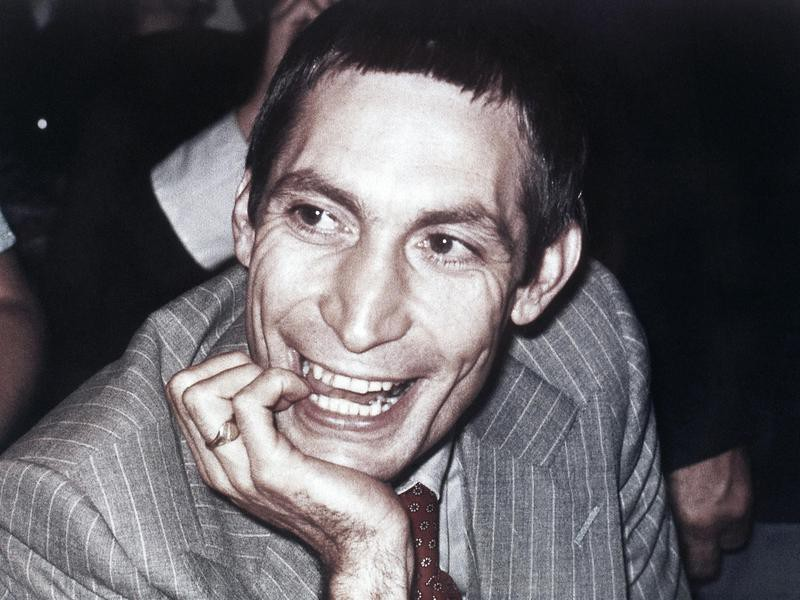 Charlie Watts in 1978