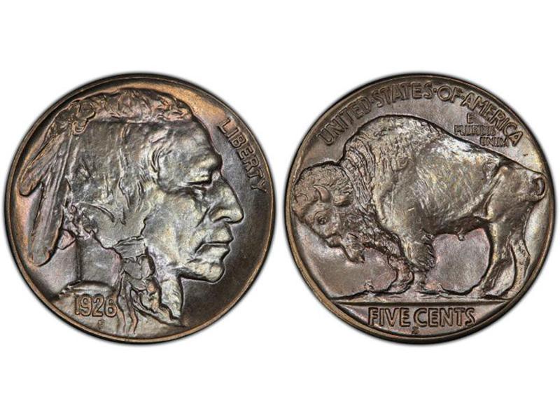 1926-S Regular Strike Buffalo Nickel