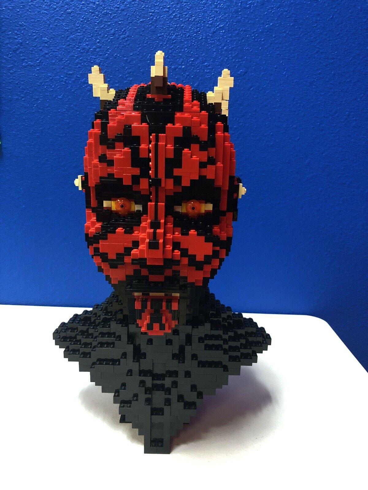 Darth Maul Lego Bust
