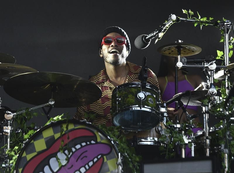Anderson Paak performs during the 2019 Outside Lands Music And Arts Festival