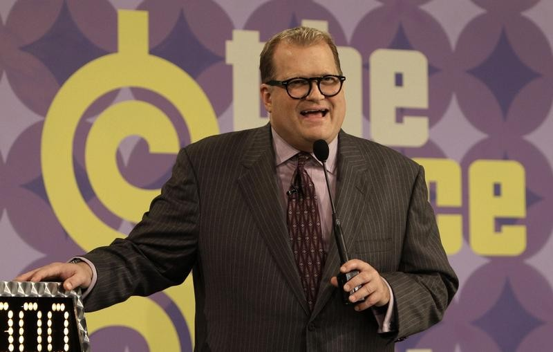 """Drew Carey as host of """"The Price is Right"""""""