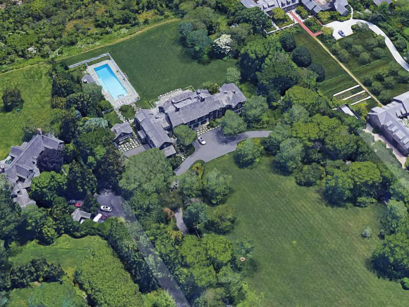 Jerry Seinfeld's house in East Hampton