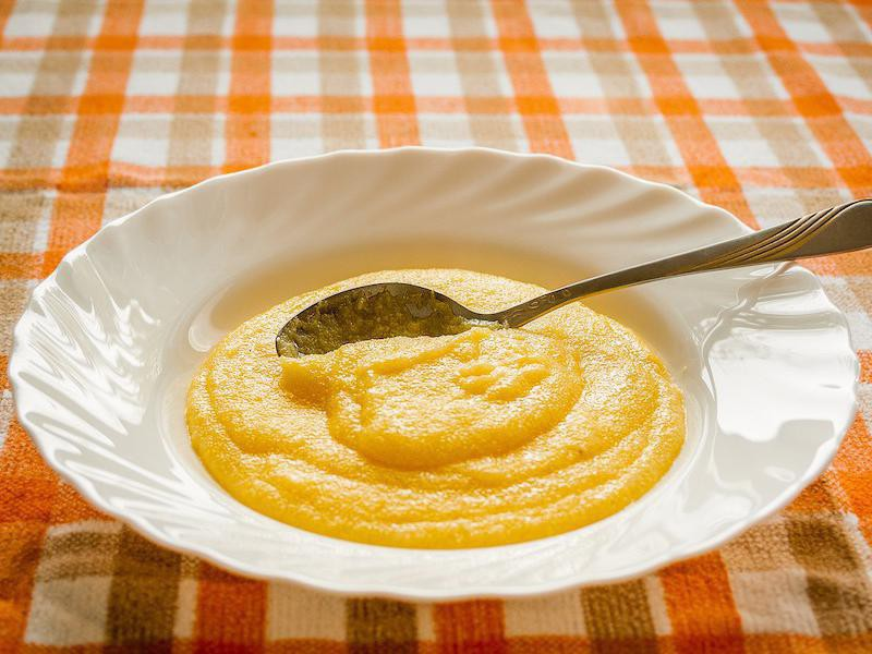 Corn meal porridge