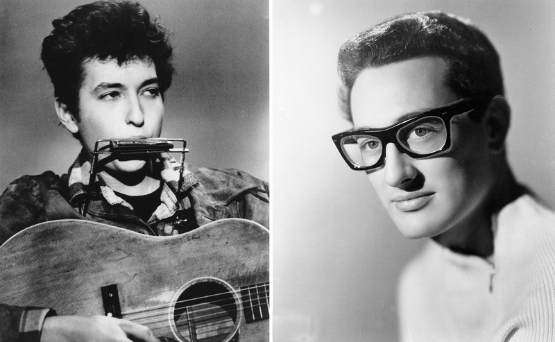 bob dylan and buddy holly