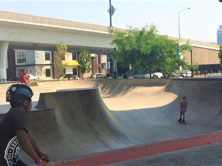 Rhodes Skatepark in Boise, Idaho