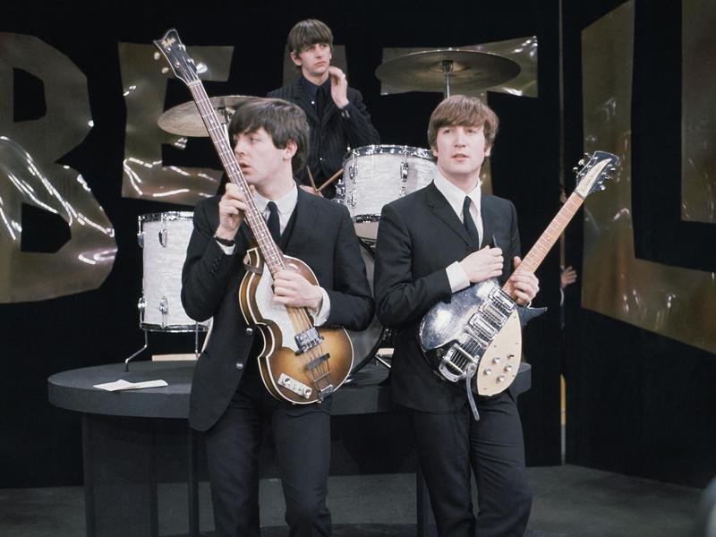 Paul McCartney Ed Sullivan rehearsal