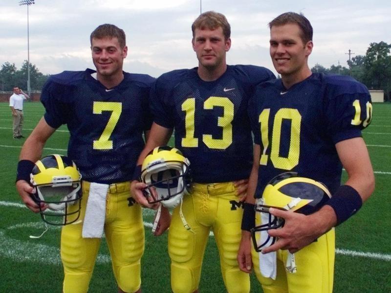 Drew Henson, Jason Kapsner, Tom Brady