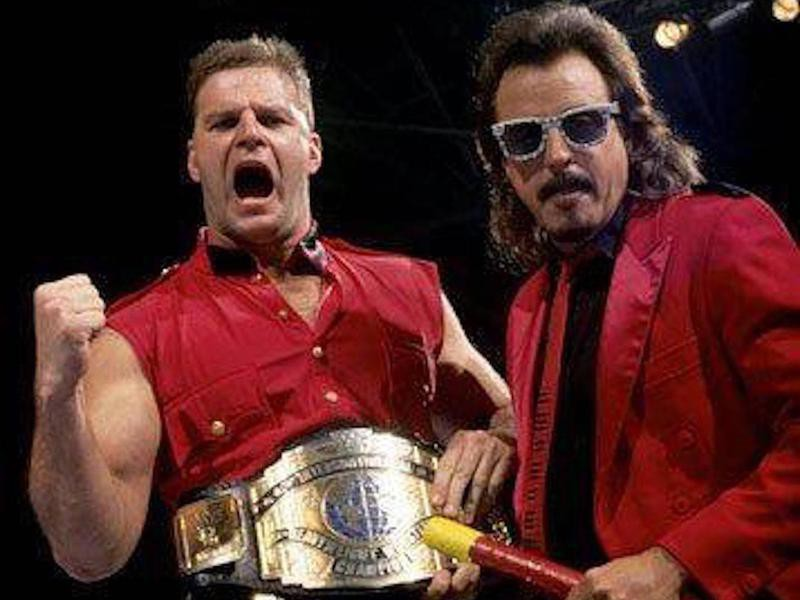 The Mountie and Jimmy Hart