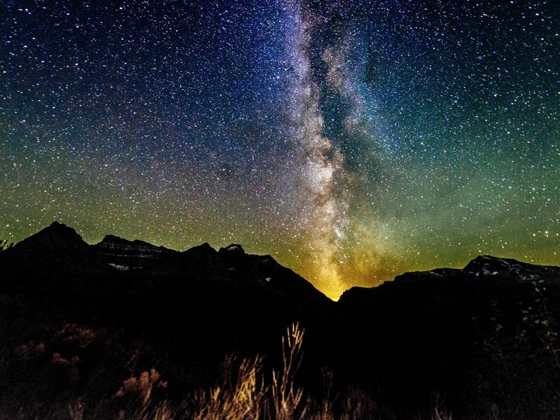 Reynolds Mountain Glacier National Park Montana