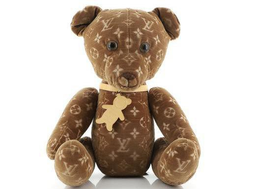 Louis Vuitton Monogrammed Teddy Bear