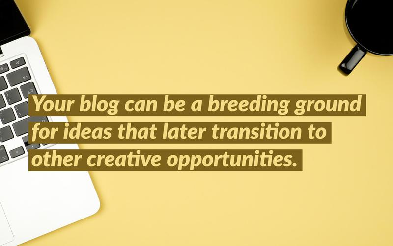 blogging resume