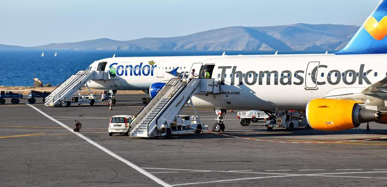 Thomas Cook plane grounded