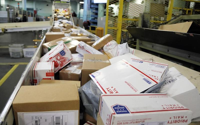 Post office sorting machines