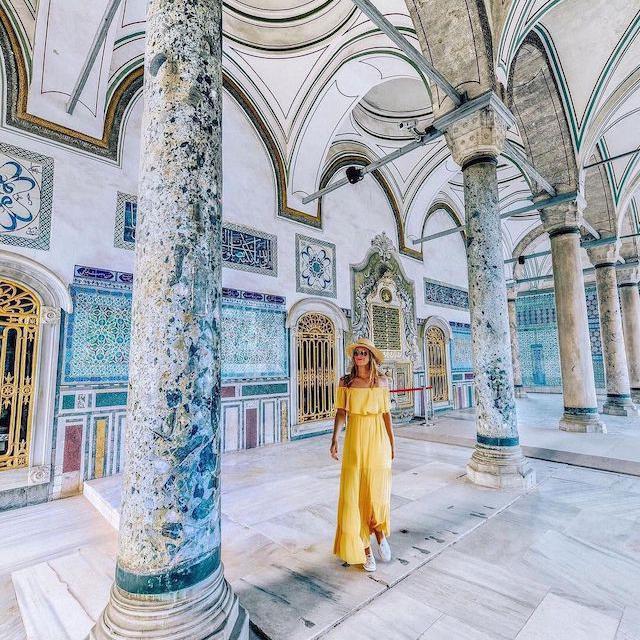 Jennifer Tuffen in Turkey