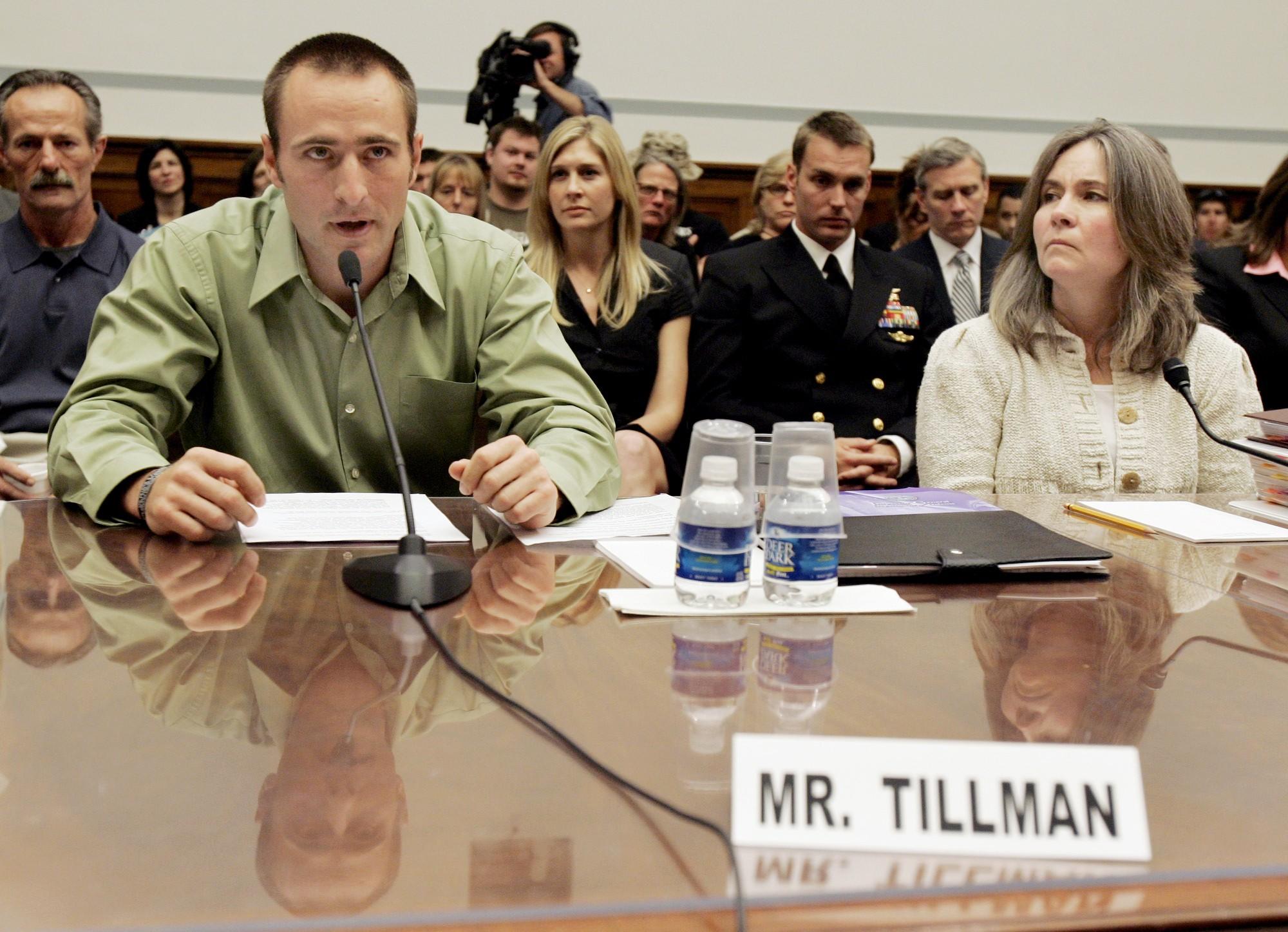 Kevin Tillman, Mary Tilllman, Marie Tillman, Patrick Tillman Sr.