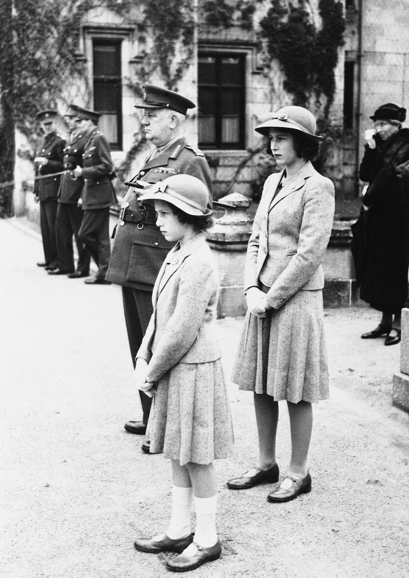 Princess Elizabeth and Princess Margaret