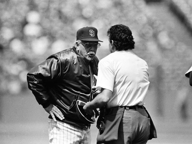 Dick Williams and Frank Pulli