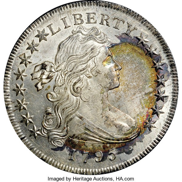 1795 Draped Bust Off Center