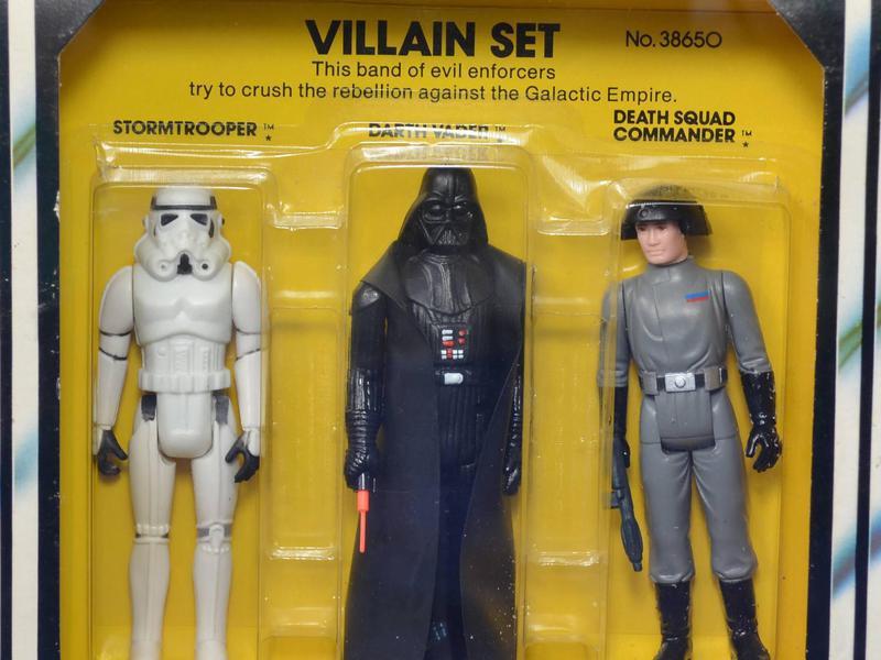 Special Action Figure Set of Villains