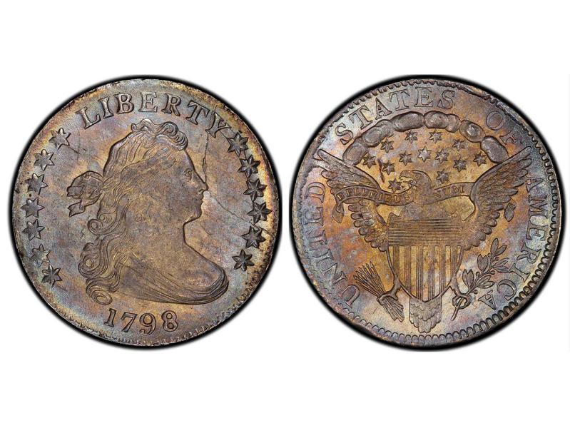 1798 Large 8 Draped Bust Dime