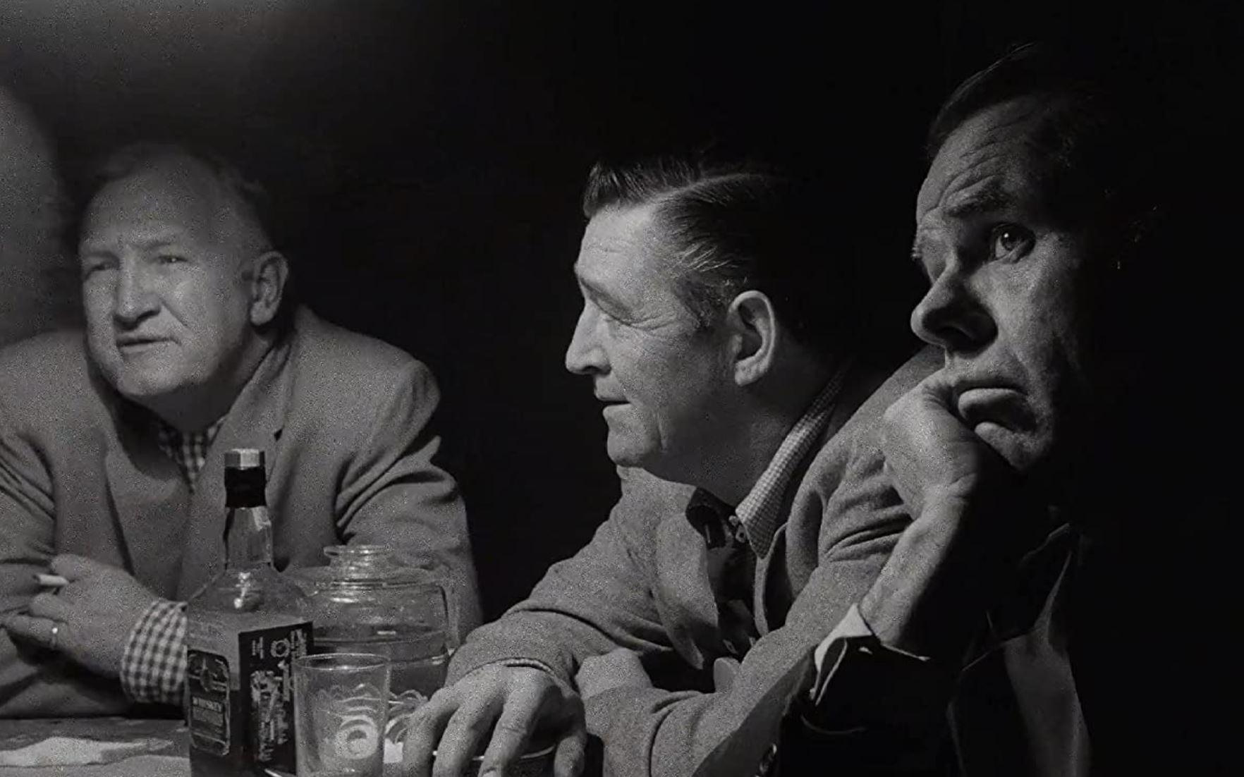 Elisha Cook Jr., Ted de Corsia, Joe Sawyer in The Killing