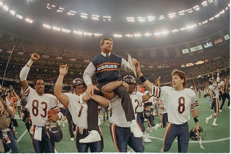 Mike Ditka in Super Bowl XX