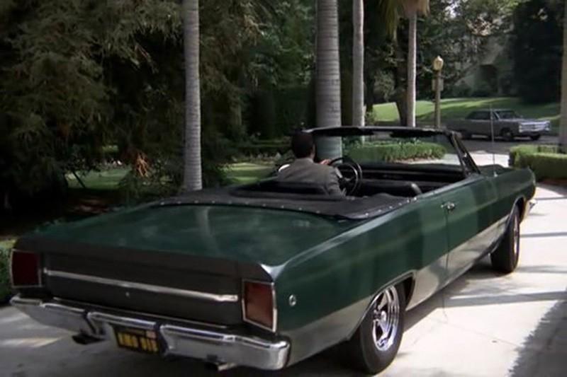 22. 1968 Dodge Dart GTS convertible