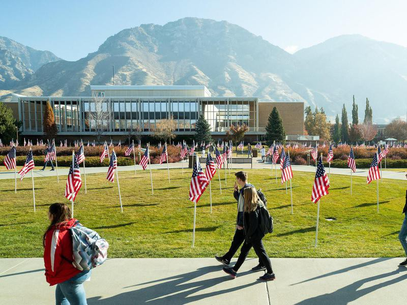 Students at Brigham Young University
