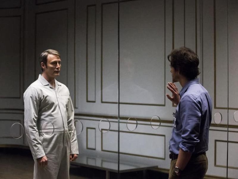Hugh Dancy and Mads Mikkelsen in Hannibal
