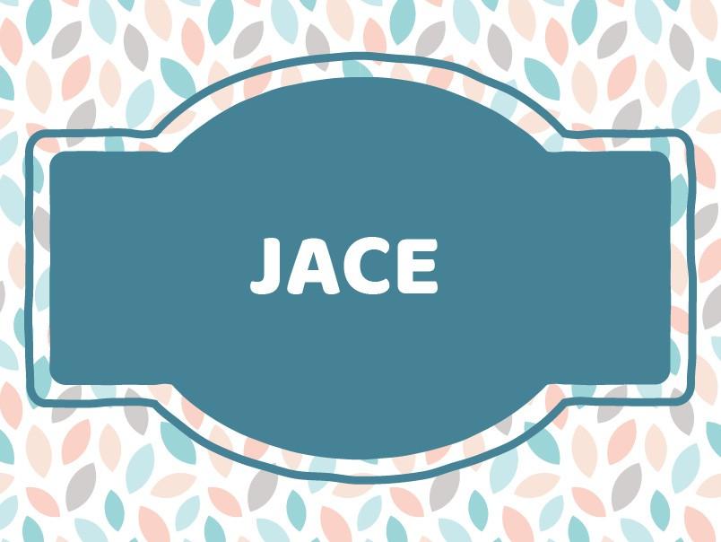 J Baby Names: Jace