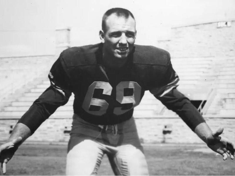 Green Bay Packers linebacker Bill Forester