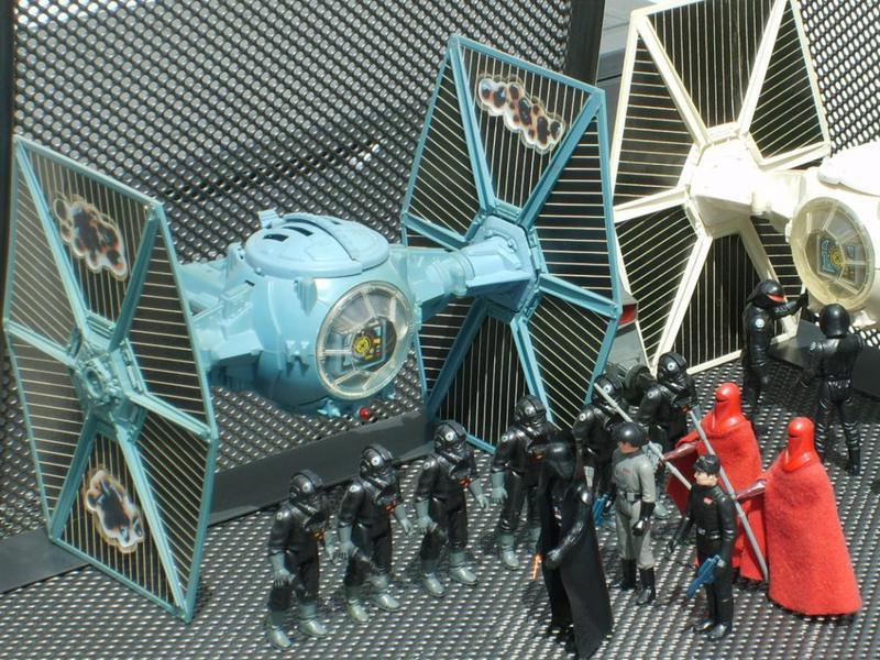 Darth Vader's Original TIE Fighter Design