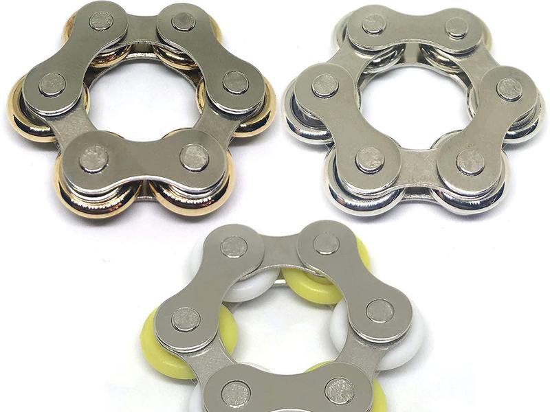 Roller Chain Fidget Toy for Adults