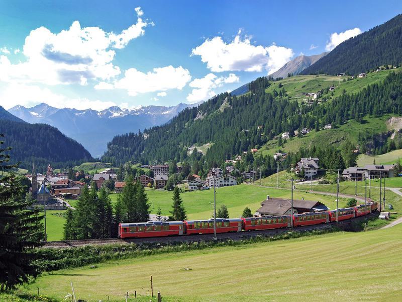 Albula Bernina Railway