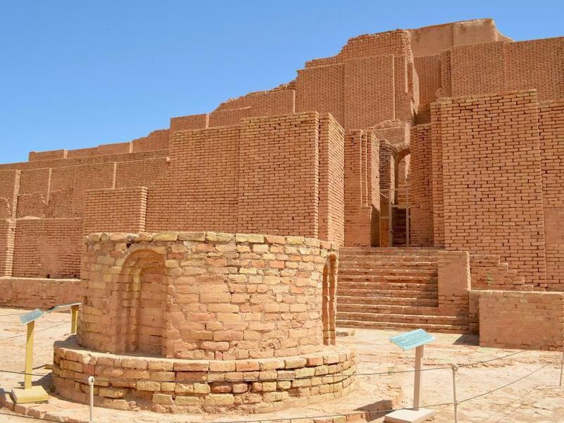 Chogha Zanbil ziggurat, Iran