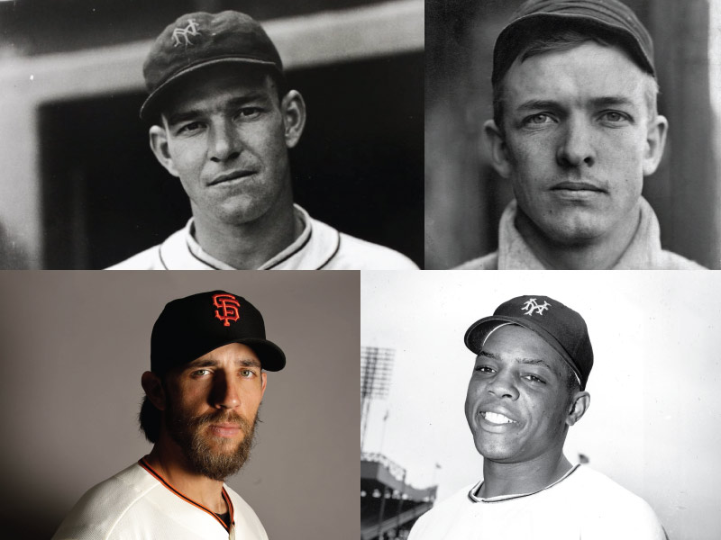 New York/San Francisco Giants Mount Rushmore