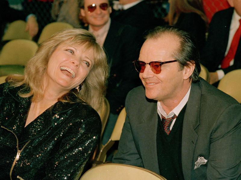 Cheryl Tiegs and Jack Nicholson