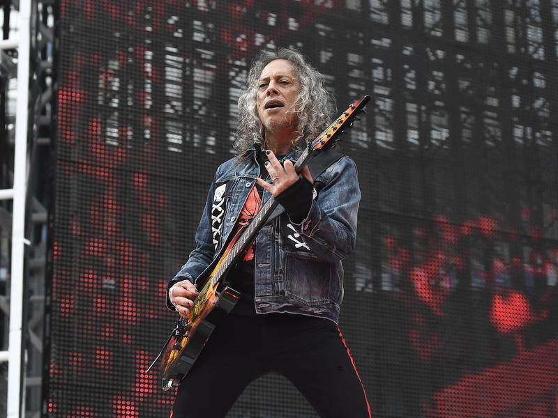 Kirk Hammett in 2019