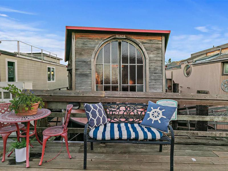 Shel Silverstein's Waldo Point house