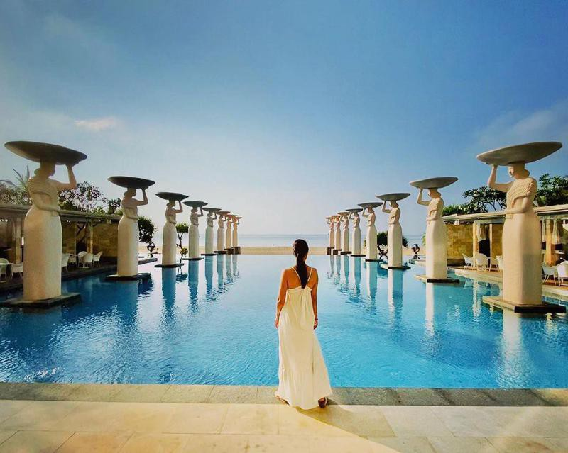 Epic Resort Pool in Bali