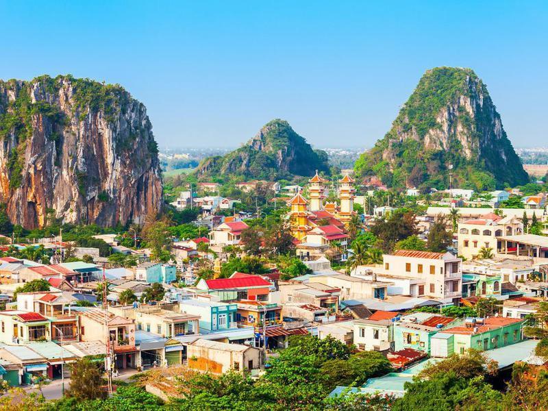 Da Nang Marble Mountains in Vietnam