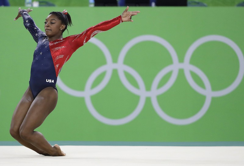 Simone Biles is one of the best women's gymnasts of all time