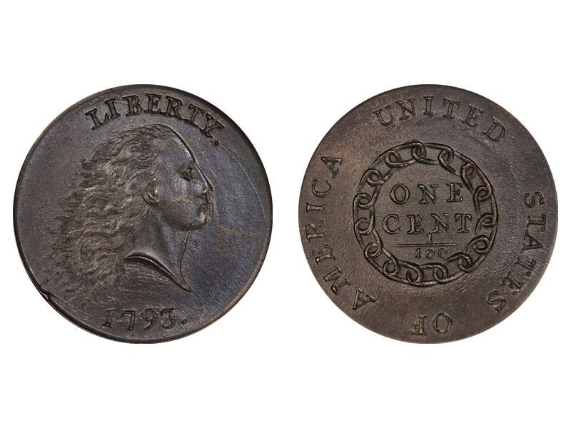 1793 Chain Cent