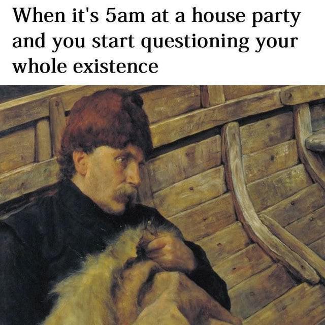 Existential crisis meme