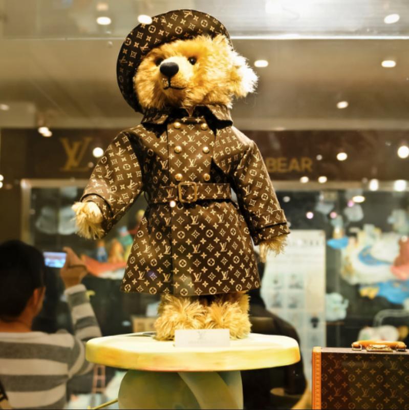 Steiff and Louis Vuitton Bear