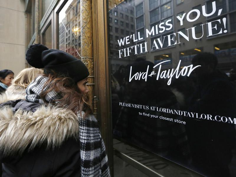 Lord & Taylor on Fifth Avenue