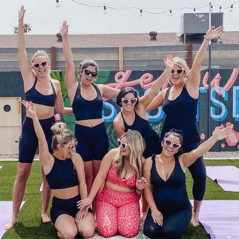 Bachelorette yoga trip