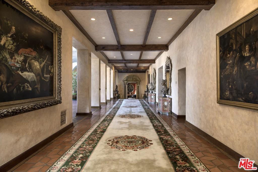 80-foot long hallway